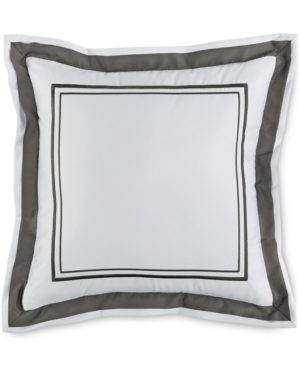 Hotel Collection Embroidered Frame 16 Square Decorative Pillow Created for Macys Bedding