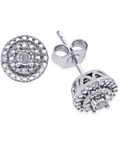 8cad908aa Sterling Silver Earrings: Shop Sterling Silver Earrings - Macy's