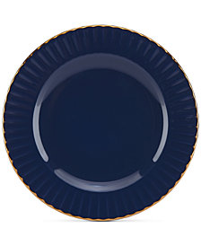 Marchesa by Lenox Dinnerware Ironstone Shades of Blue Party Plate