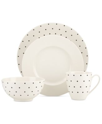 Charmant Larabee Dot Cream Collection. Add Spunky Sophistication To Everyday Dining  With Kate Spade ...