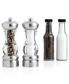 "Martha Stewart Collection 7"" Del Norte Salt and Pepper Mill, Created for Macy's"