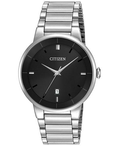 Citizen Men's Stainless Steel Bracelet Watch 40mm BI5010-59E