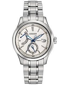 Citizen Men's Automatic Grand Classic Stainless Steel Bracelet Watch 43mm NB3010-52A