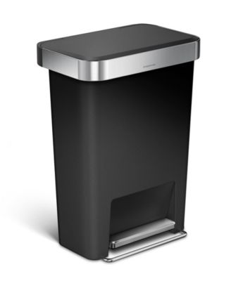 simplehuman 45l step trash can