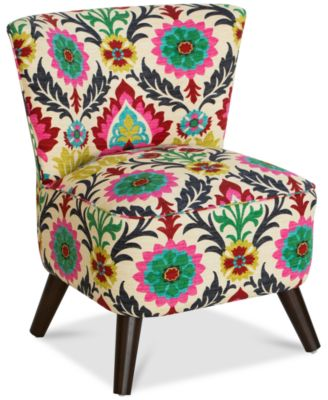 Grandview Desert Flower Accent Chair, Quick Ship. Furniture