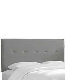 Holley King Five Button Headboard, Quick Ship