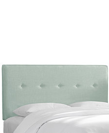 Holley Queen Five Button Headboard, Quick Ship