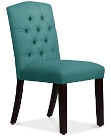 Jillian Tufted Arch Dining Chair, Quick Ship
