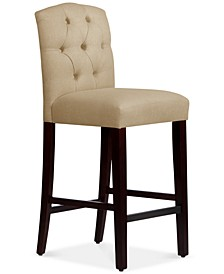 Jillian Tufted Arch Bar Stool