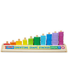 Melissa and Doug Kids'  Counting Shape Stacker