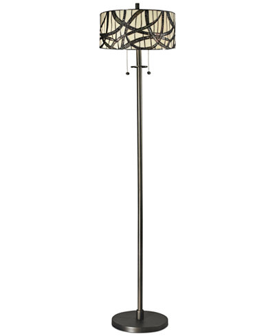 Dale Tiffany Willow Cottage Metal Floor Lamp