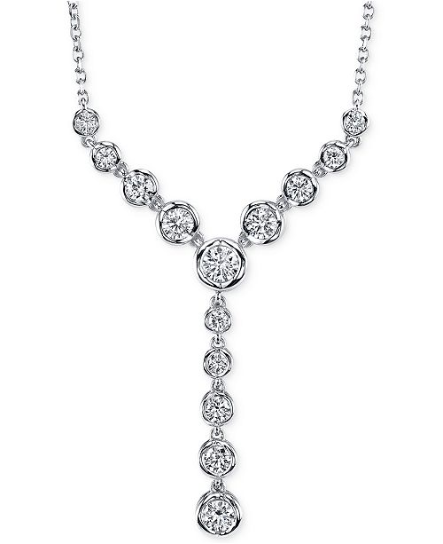 Macy's Sirena® Diamond Lariat Necklace (1 ct. t.w) in 14k Gold or White Gold