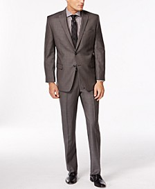 Charcoal Pindot Modern Fit Suit Separates