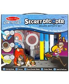 Melissa and Doug Kids' Secret Decoder Deluxe Activity Set