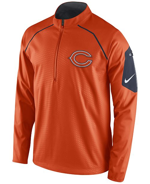 Nike. Men s Chicago Bears Alpha Fly Rush Quarter-Zip Jacket. Be the first  to Write a Review. main image  main image ... 244f16e12