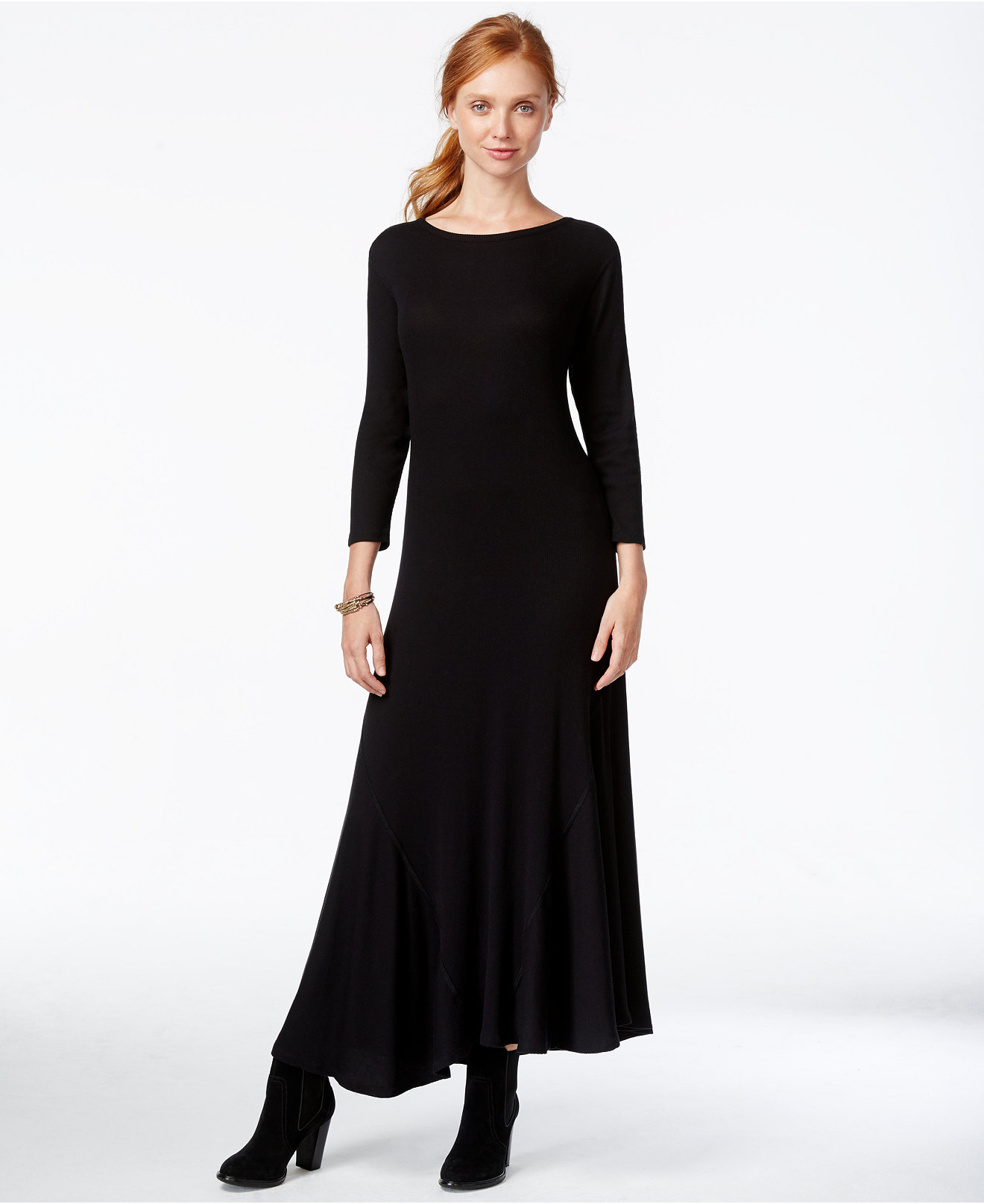 Sleeved Maxi Dresses