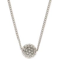 Deals on Givenchy 16-in Rose Gold-Tone Crystal Fireball Pendant Necklace
