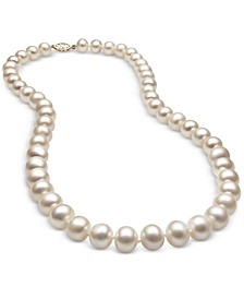 Cultured Freshwater Pearl (8-1/2mm) Strand in 14k Gold