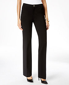 Anne Klein Straight-Leg Trousers