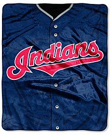 Northwest Company Cleveland Indians Raschel Strike Blanket