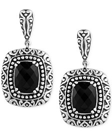 Balissima by EFFY Onyx (6-4/5 ct. t.w.) Drop Earrings in Sterling Silver