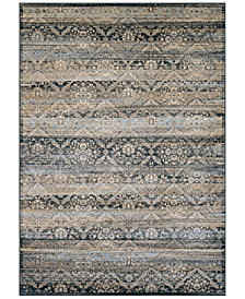 "CLOSEOUT! Couristan HARAZ HAR466 Blue 9'2"" x 12'5"" Area Rug"