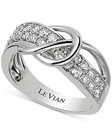 Vanilla® Diamond Swirl Ring (3/4 ct. t.w.) in 14k White Gold