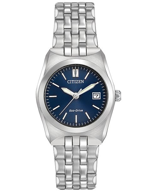 Citizen Men's Eco-Drive Stainless Steel Bracelet Watch 40mm BM7330-59L