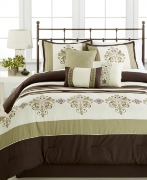 Closeout Marin 7Pc Queen Comforter Set Bedding