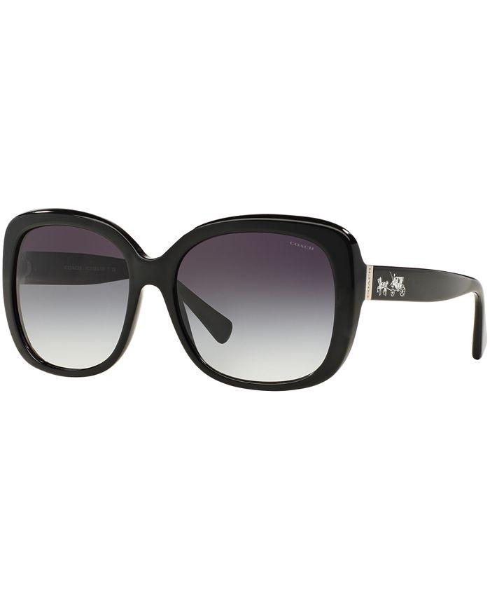 COACH - Sunglasses,  HC8158 58 L139