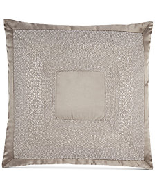 "Hotel Collection Keystone 18"" Square Decorative Pillow, Created for Macy's"