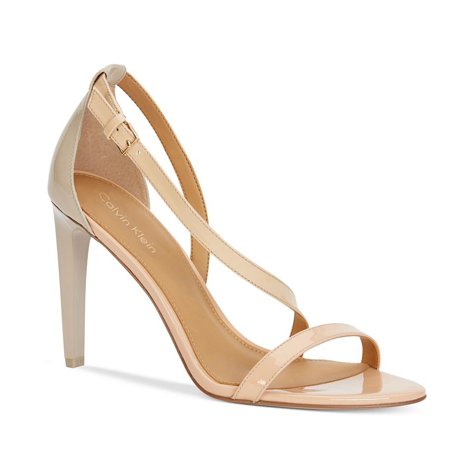 Calvin Klein Womens Narella Colorblocked Dress Sandals   Sandals