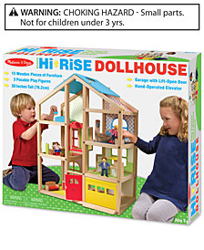 Melissa and Doug  Hi-Rise Dollhouse
