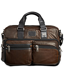 Tumi Alpha Bravo Andersen Slim Commuter Brief