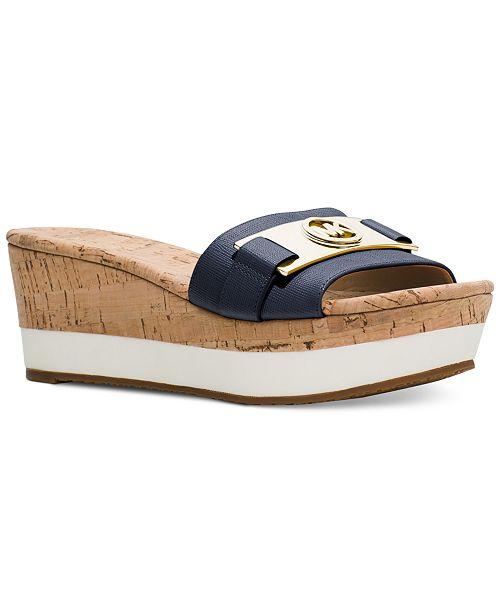 dfae6aadec Michael Kors Warren Platform Sandals; Michael Kors Warren Platform Sandals  ...