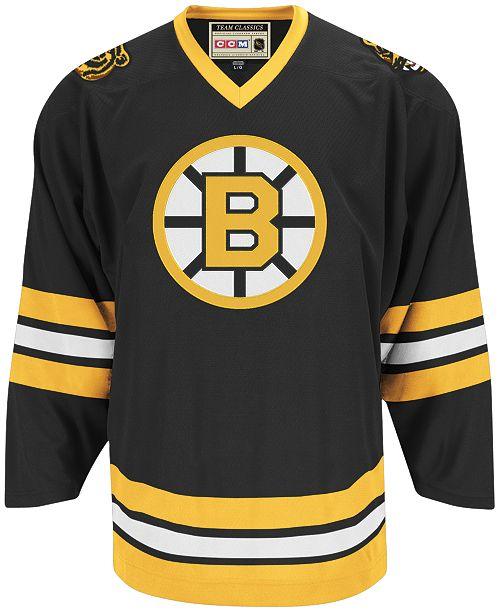 CCM Men s Boston Bruins Classic Jersey - Sports Fan Shop By Lids ... 0323db278