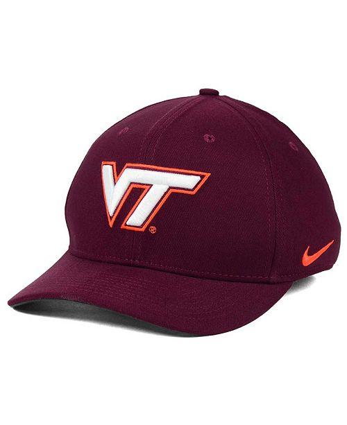 Nike Virginia Tech Hokies Classic Swoosh Cap