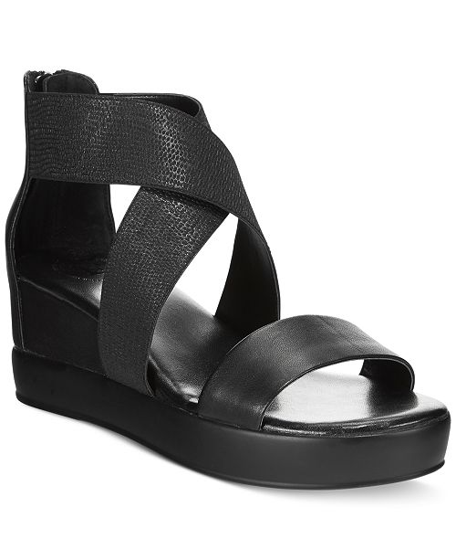 f0b7aa9bd2d0 French Connection Pelle Wedges   Reviews - Sandals   Flip Flops ...