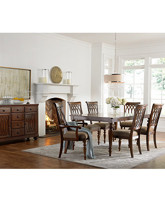 Crestwood Dining Room Furniture Collection, Created for Macy\'s ...