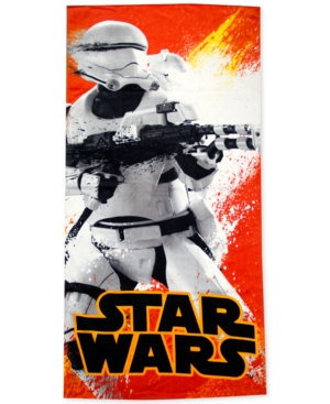 Star Wars Flame Stormtrooper Beach Towel from Jay Franco Bed