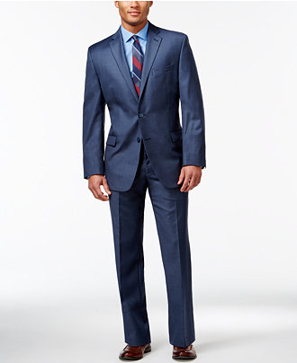 Calvin Klein Blue Modern Fit Suit Separates - Suits & Suit ...