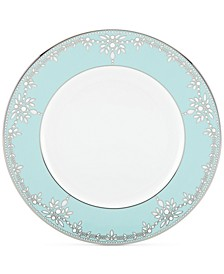 Empire Pearl Turquoise  Bone China Dinner Plate