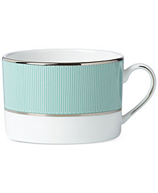 Brian Gluckstein by Lenox Clara Aqua  Bone China Can Cup