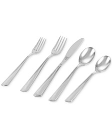 Fortuna 42-Pc. 18/10 Stainless Steel Flatware Set, Service For 8