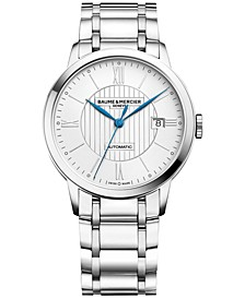 Men's Swiss Automatic Classima Stainless Steel Bracelet Watch 40mm M0A10215