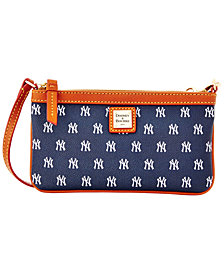 Dooney & Bourke New York Yankees Large Slim Wristlet