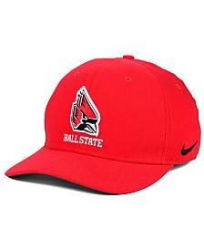 Nike Ball State Cardinals Classic Swoosh Cap