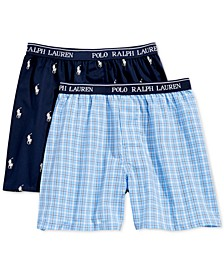 2-Pk. Printed Boxers, Little Boys & Big Boys
