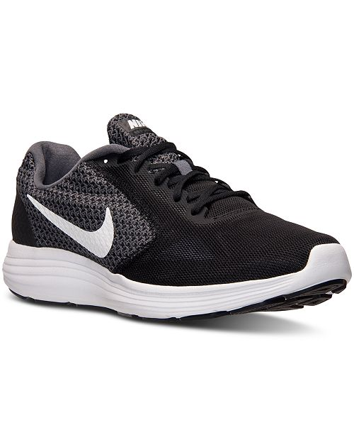 d2a1c929f600 Nike Men s Revolution 3 Running Sneakers from Finish Line ...