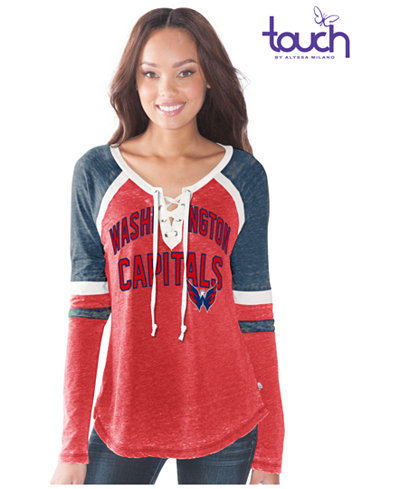 G3 Sports Women's Washington Capitals Backshot Jersey